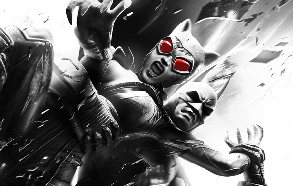 Сток batman arkham city