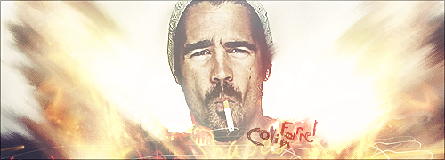 PSD Colin Farrel signature smudge & soft style