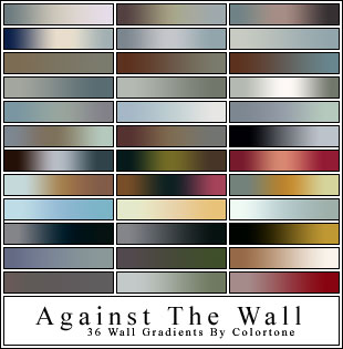 Wall Gradients For Photoshop / стенные градиенты для фотошопа